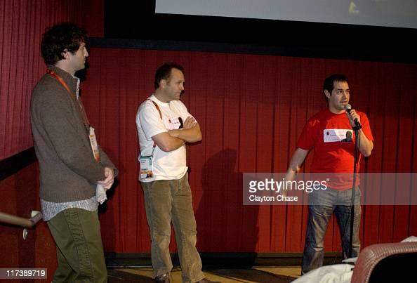 Trevor Groth Nick Bonner producer and Daniel Gordon director