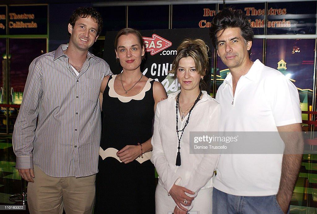 Trevor Groth, 'Private Property' Actress Marianna Jokovic, Writer, Producer, Director, Editor Elizabeth Dimon, Actor David Thornton