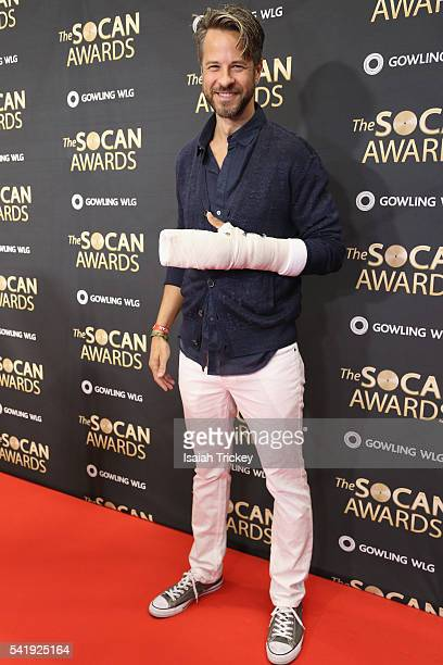 Trevor Guthrie arrives at The 27th Annual SOCAN Awards Gala at the Sheraton Centre Hotel on June 20 2016 in Toronto Canada