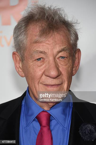 Trevor Hero Award recipient Sir Ian McKellen attends TrevorLIVE New York honoring Sir Ian McKellen Representative Ryan Fecteau and Johnson Johnson...