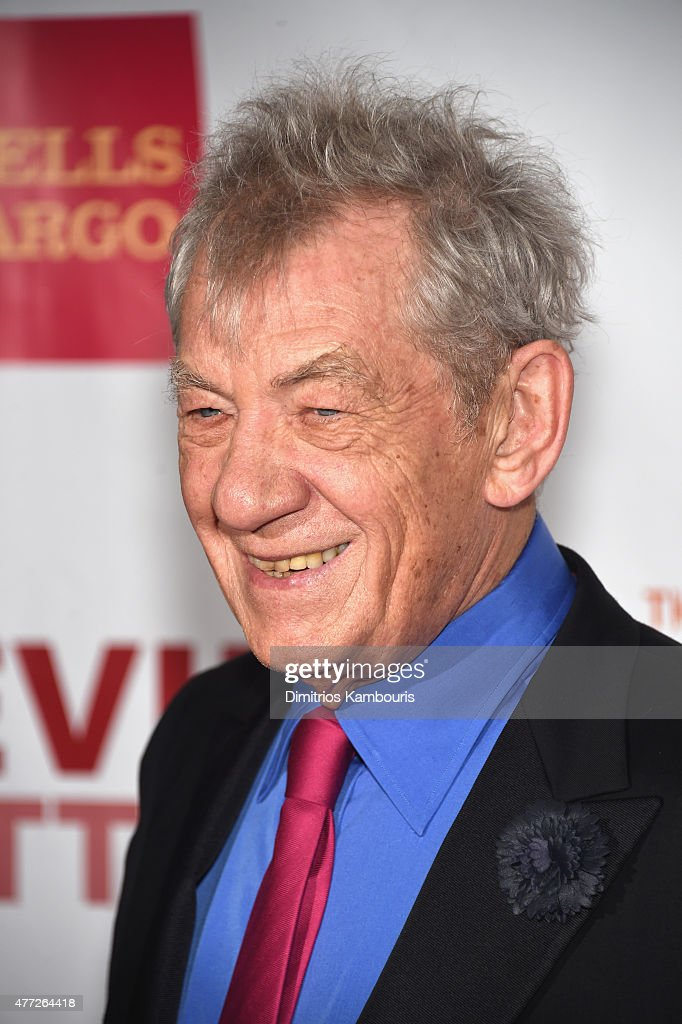 Trevor Hero Award recipient Sir <a gi-track='captionPersonalityLinkClicked' href=/galleries/search?phrase=Ian+McKellen&family=editorial&specificpeople=202983 ng-click='$event.stopPropagation()'>Ian McKellen</a> attends TrevorLIVE New York honoring Sir <a gi-track='captionPersonalityLinkClicked' href=/galleries/search?phrase=Ian+McKellen&family=editorial&specificpeople=202983 ng-click='$event.stopPropagation()'>Ian McKellen</a>, Representative Ryan Fecteau and Johnson & Johnson for the Trevor Project presented by Wells Fargo and Kevin Potter on June 15, 2015 in New York City.