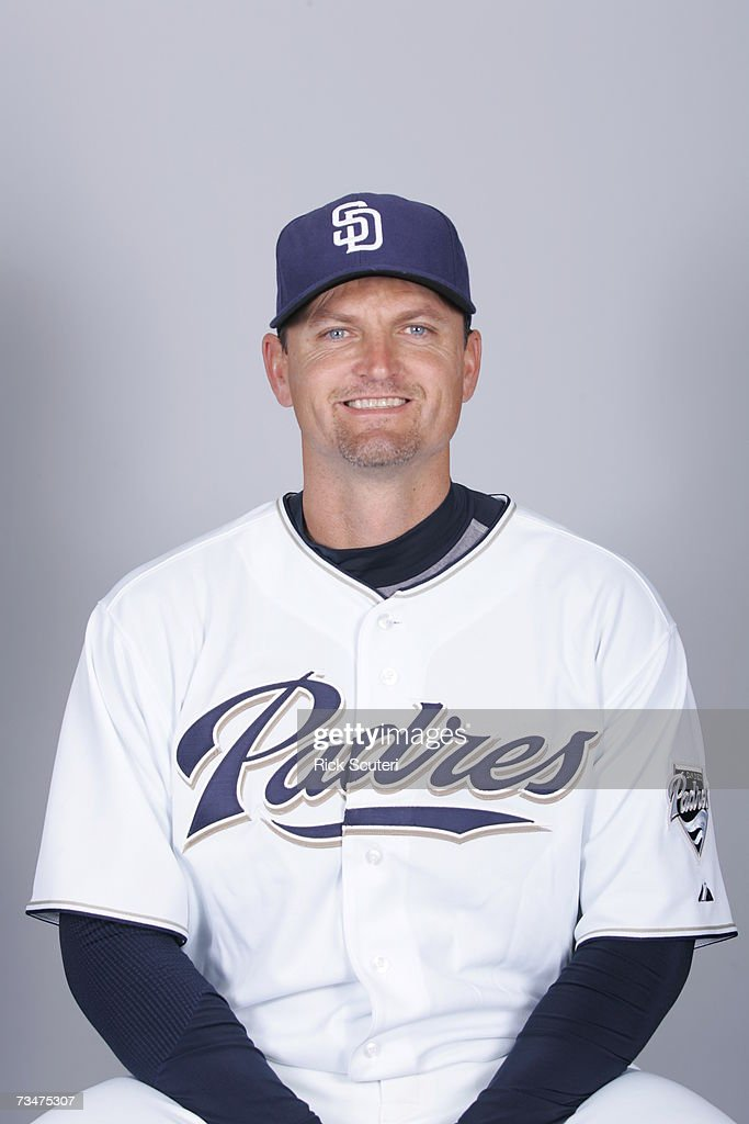 Trevor Hoffman of the San Diego Padres poses during photo day at Peoria Stadium on February 23, 2007 in Peoria, Arizona.