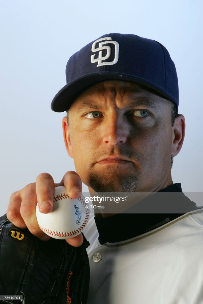 Trevor Hoffman of the San Diego Padres poses for a portrait during San Diego Padres Photo Day at the Peoria Sports Complex on February 23, 2007 in Peoria, Arizona.