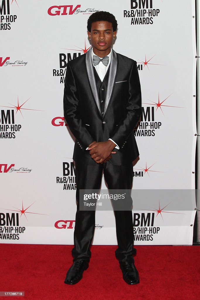 <a gi-track='captionPersonalityLinkClicked' href=/galleries/search?phrase=Trevor+Jackson+-+Performer&family=editorial&specificpeople=2269173 ng-click='$event.stopPropagation()'>Trevor Jackson</a> attends BMI's 2013 R&B/Hip-Hop Awards at The Manhattan Center on August 22, 2013 in New York City.