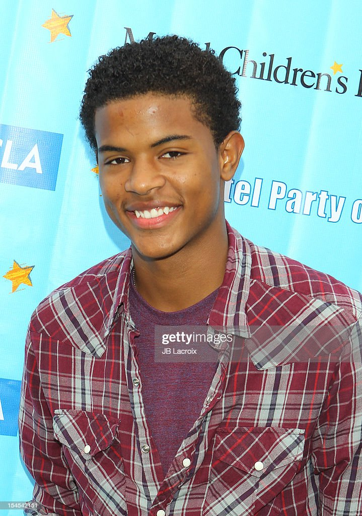 Trevor Jackson attends the Mattel Party On The Pier Benefiting Mattel Children's Hospital UCLA at Pacific Park ? Santa Monica Pier on October 21, 2012 in Santa Monica, California.