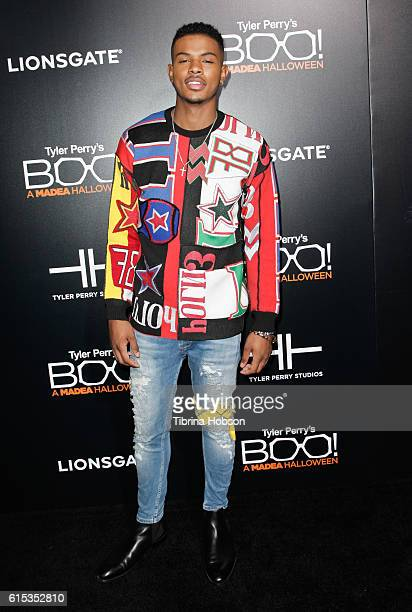 Trevor Jackson attends the premiere of 'Boo A Madea Halloween' at ArcLight Cinemas Cinerama Dome on October 17 2016 in Hollywood California