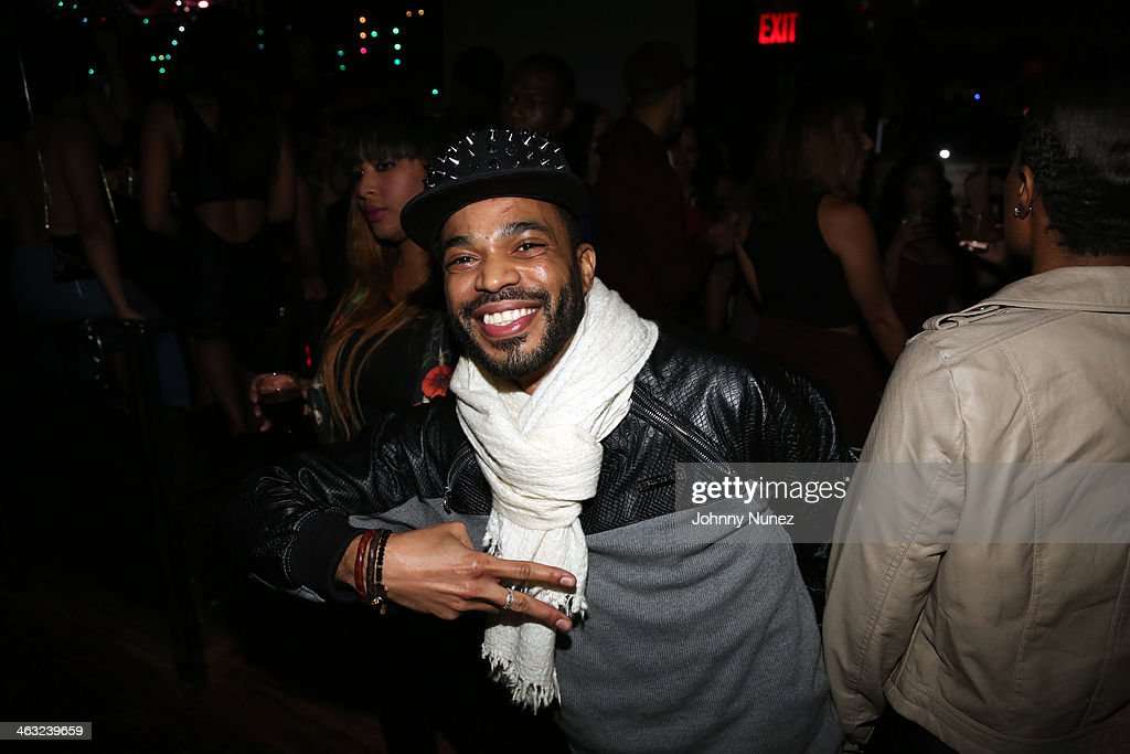 Trevor Julien attends a birthday celebration for Barry Mullineaux and DJ Clue at Greenhouse on January 16, 2014, in New York City.