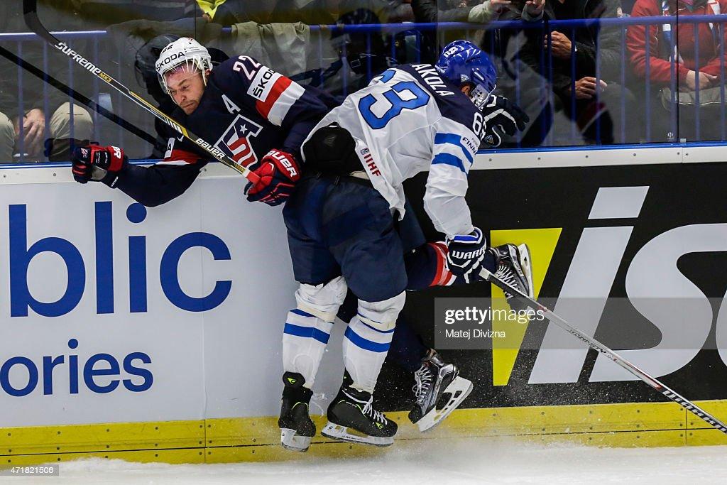 USA v Finland - 2015 IIHF Ice Hockey World Championship