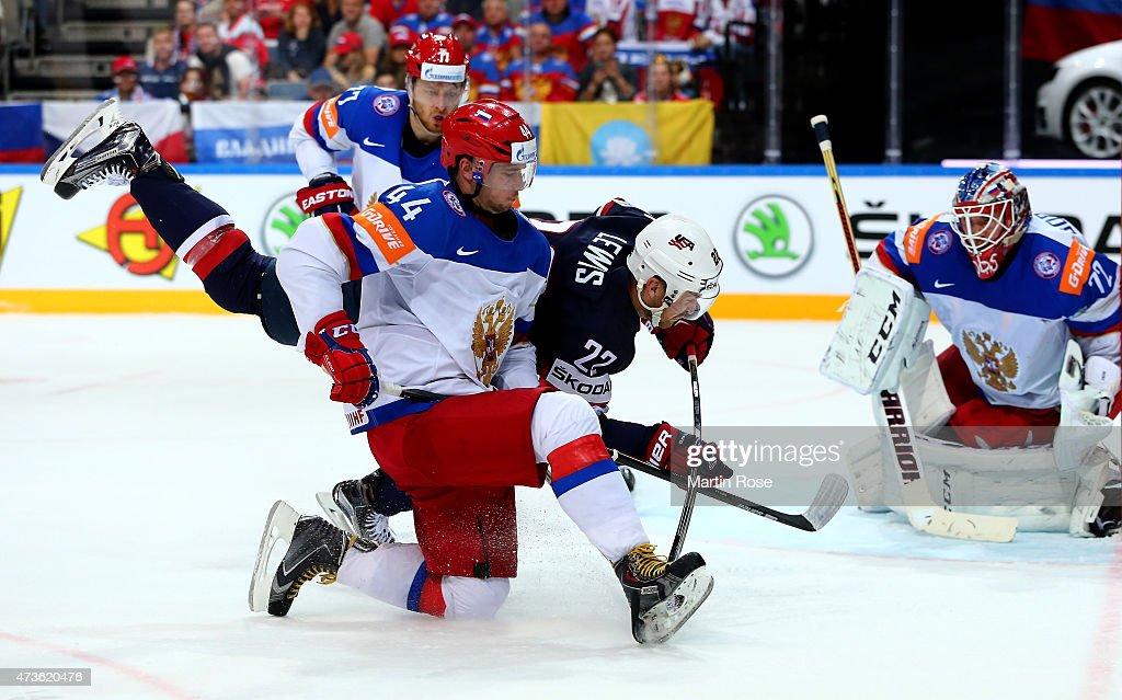 USA v Russia - 2015 IIHF Ice Hockey World Championship Semi Final