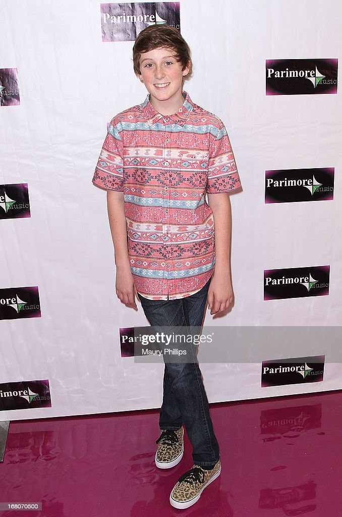 Trevor Moran attends Katia Nicole's Rave Music Video release party on May 4, 2013 in Los Angeles, California.
