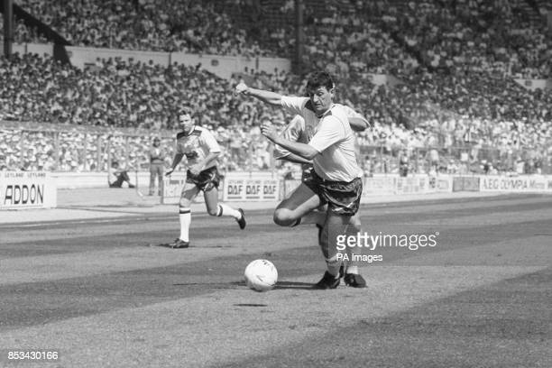 Trevor Morgan in action for Bolton Wanders during the Sherpa Van Trophy Final at Wembley