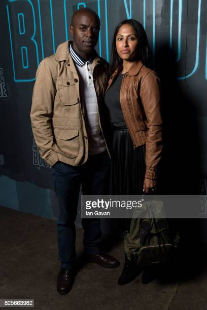 Trevor Nelson attends a special screening of 'Atomic Blonde' hosted by Universal Pictures at Village Underground on August 2 2017 in London England