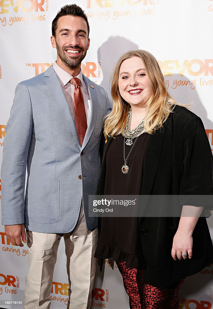 Trevor NextGen Co-Chairs Josh Cohen and Anna Williams attend Trevor NextGen 4th Annual Spring Fling at Maritime Hotel on April 5, 2013 in New York, United States.