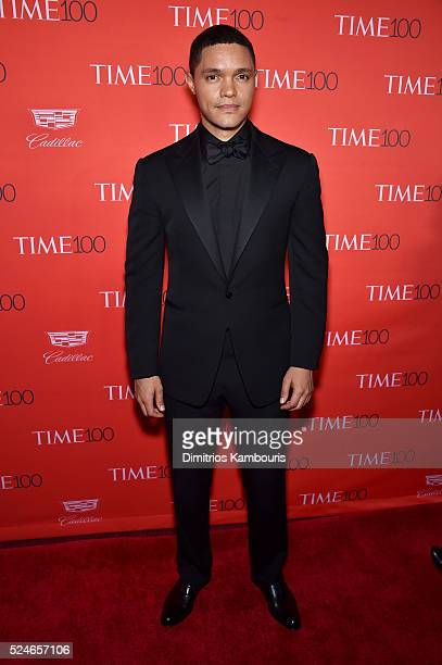 Trevor Noah attends 2016 Time 100 Gala Time's Most Influential People In The World red carpet at Jazz At Lincoln Center at the Times Warner Center on...