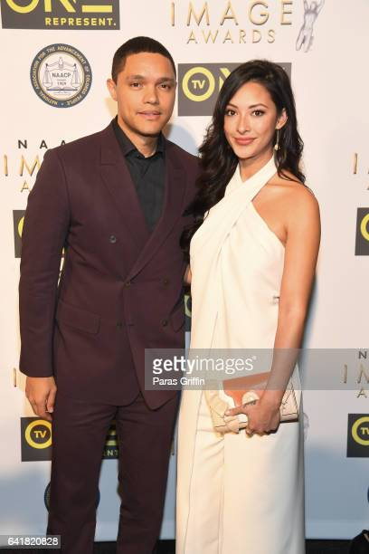 Trevor Noah attends 48th NAACP Image Dinner at Pasadena Convention Center on February 10 2017 in Pasadena California