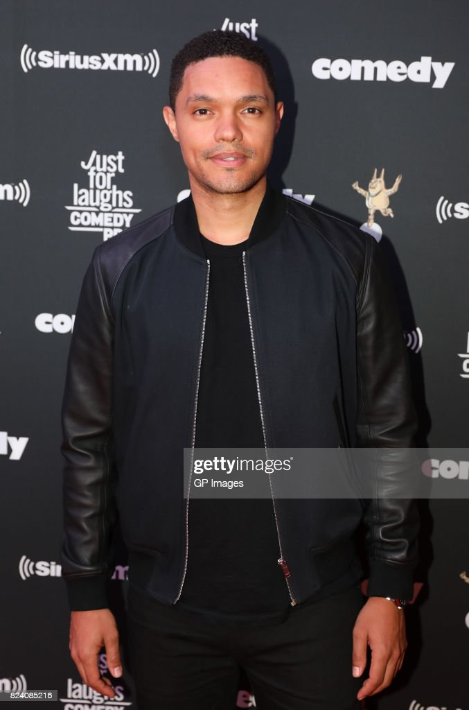 Trevor Noah attends the Just For Laughs Comedy Festival 2017 held at the Hyatt Regency on July 28, 2017 in Montreal, Canada.