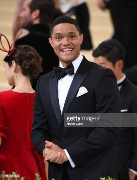 Trevor Noah attends the 'Rei Kawakubo/Comme des Garcons Art Of The InBetween' Costume Institute Gala at Metropolitan Museum of Art on May 1 2017 in...