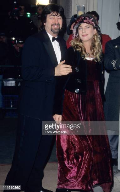 Trevor Nunn and Imogen Stubbs during Trevor Nunn and Imogen Stubbs at The Evening Standard British Film Awards at London in London Great Britain