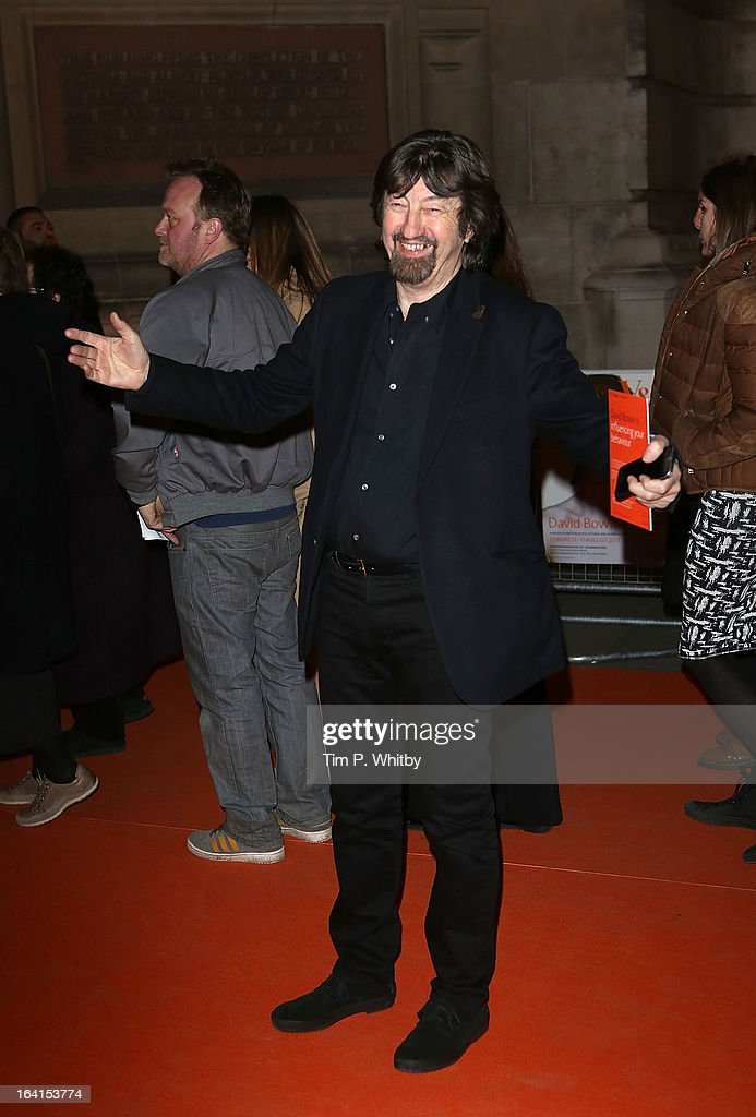<a gi-track='captionPersonalityLinkClicked' href=/galleries/search?phrase=Trevor+Nunn&family=editorial&specificpeople=212744 ng-click='$event.stopPropagation()'>Trevor Nunn</a> attends the private view of 'David Bowie Is' at Victoria & Albert Museum on March 20, 2013 in London, England.