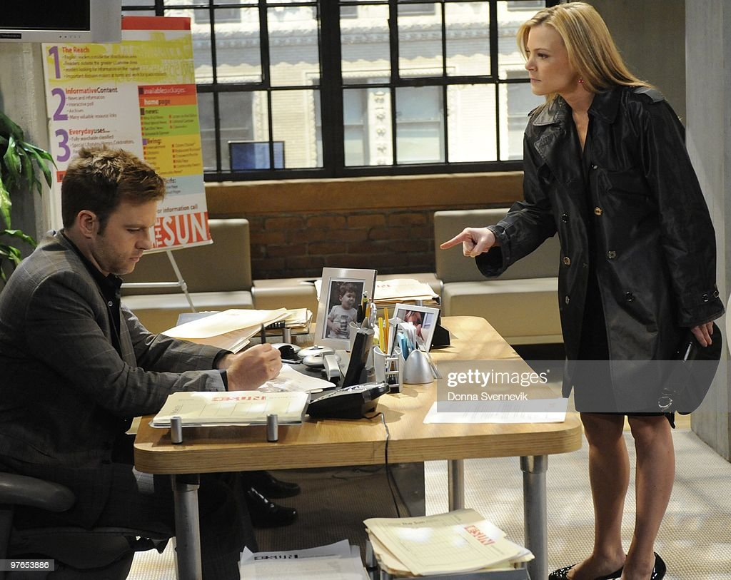 LIVE - Trevor St. John (Todd) and Gina Tognoni (Kelly) in a scene that airs the week of March 15, 2010 on ABC Daytime's 'One Life to Live.' 'One Life to Live' airs Monday-Friday (2:00 p.m. - 3:00 p.m., ET) on the ABC Television Network. OLTL10 (Photo by Donna Svennevik/ABC via Getty Images) TREVOR