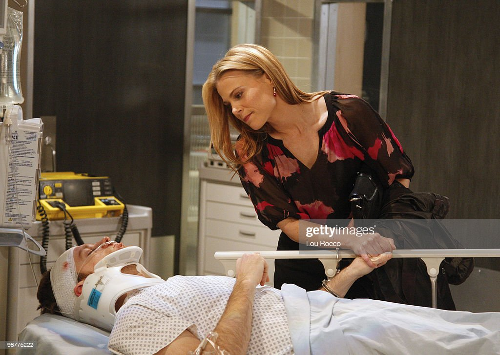 LIVE - Trevor St. John (Todd) and Gina Tognoni (Kelly) in a scene that begins airing the week of April 26, 2010 on ABC Daytime's 'One Life to Live.' 'One Life to Live' airs Monday-Friday (2:00 p.m. - 3:00 p.m., ET) on the ABC Television Network. OLTl10 (Photo by Lou Rocco/ABC via Getty Images) TREVOR