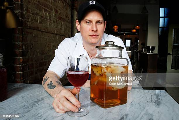 Trevor Stockwell with KombuchaKombuchaa fermented tea drink is all the rage right now Dandylion restaurant on Queen St West makes an amazing and...