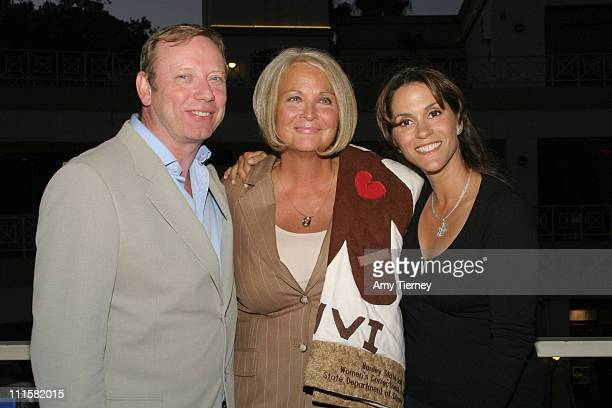 Trevor Walton Sr VP of Lifetime Orginal Television Marilyn Gambrell and Jami Gertz