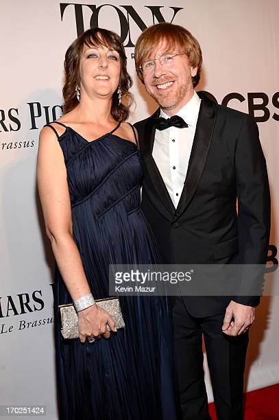 Trey Anastasio and guest attend The 67th Annual Tony Awards at Radio City Music Hall on June 9 2013 in New York City
