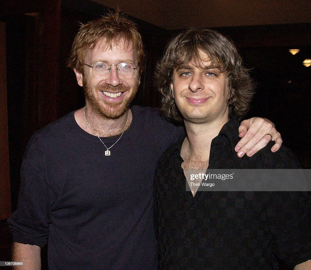 Trey Anastasio and Mike Gordon of Phish during Woodstock Film Festival and Allaire Studios Present 'Rising Low' Directed by Mike Gordon of Phish at Allaire Studios in Woodstock, New York, United States.