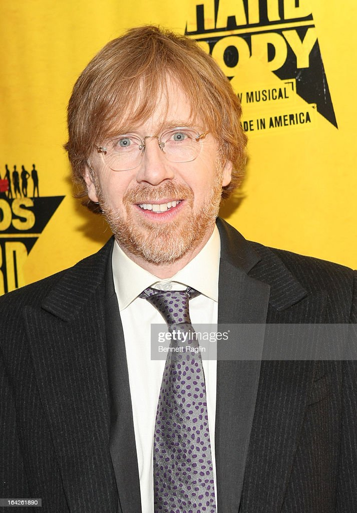 <a gi-track='captionPersonalityLinkClicked' href=/galleries/search?phrase=Trey+Anastasio&family=editorial&specificpeople=214116 ng-click='$event.stopPropagation()'>Trey Anastasio</a> attends 'Hands On A Hard Body' Broadway opening night after party at Roseland Ballroom on March 21, 2013 in New York City.