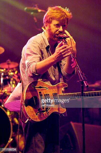 Trey Anastasio of Phish during Phish Coventry Festival 2004 Day 1 at Coventry in Newport Vermont United States