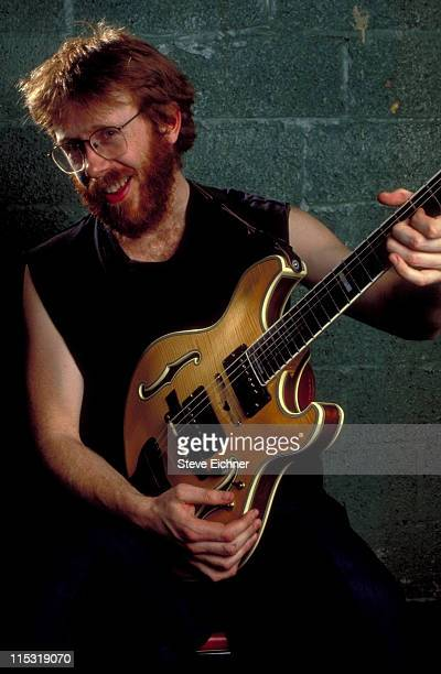 Trey Anastasio of Phish during Trey Anastasio of Phish at Roseland 1992 at Roseland Ballroom in New York City New York United States