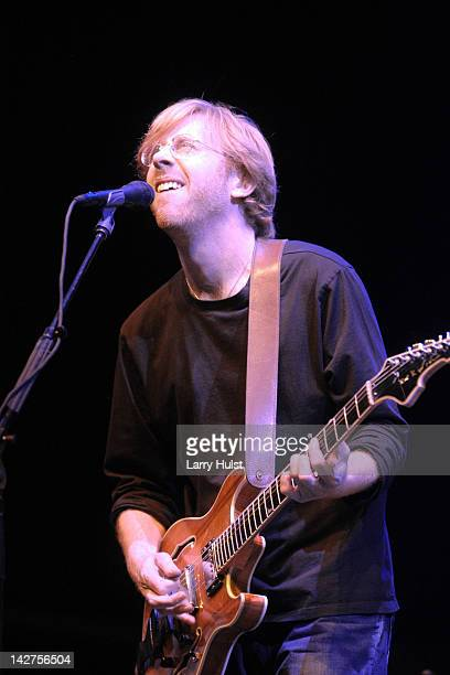 Trey Anastasio performing at the Vegoose Festival at Sam Boyd Stadium in Las Vegas Nevada on October 29 2005