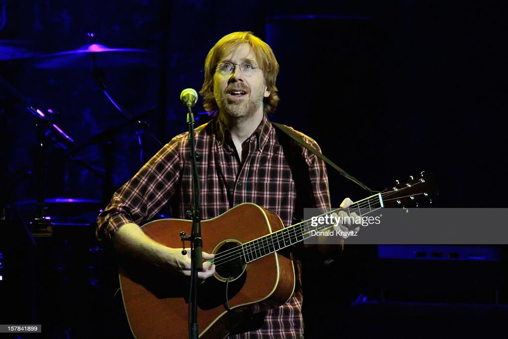 Trey Anastasio performs at Borgata Hotel Casino & Spa on December 6, 2012 in Atlantic City, New Jersey.