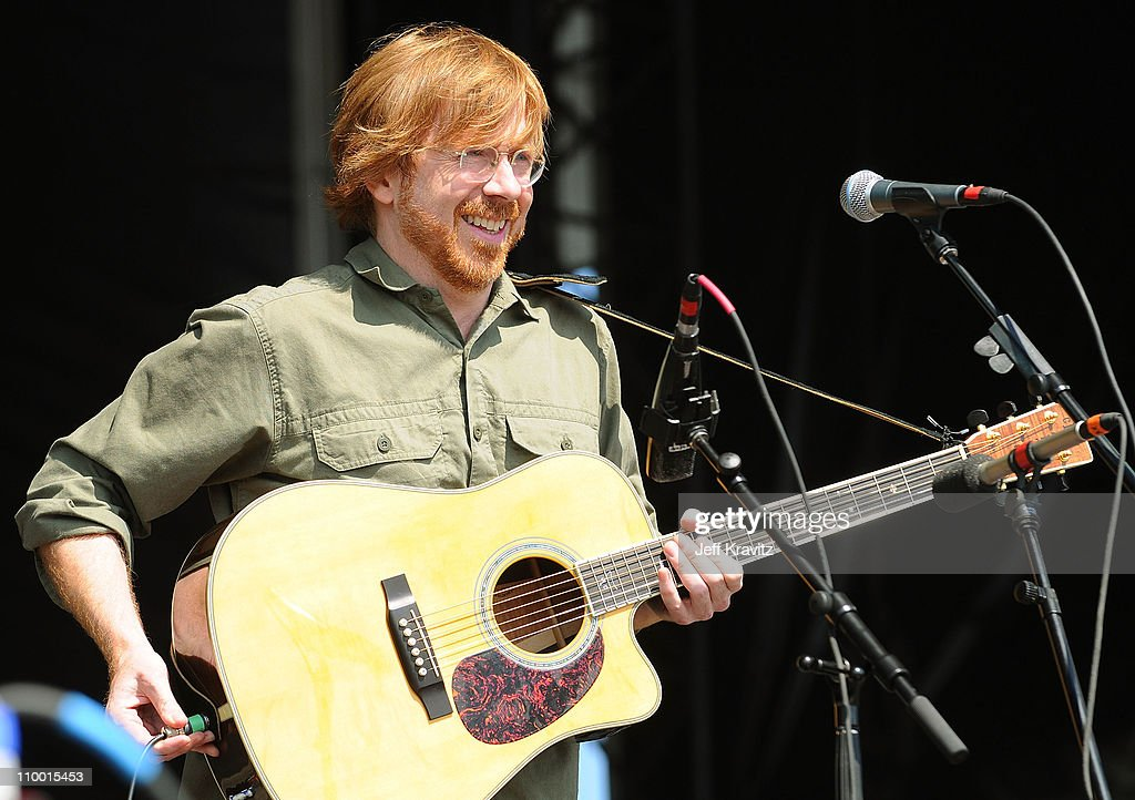 Trey Anastasio performs on the Odeum Stage during the Rothbury Music Festival 08 on July 6, 2008 in Rothbury, Michigan.