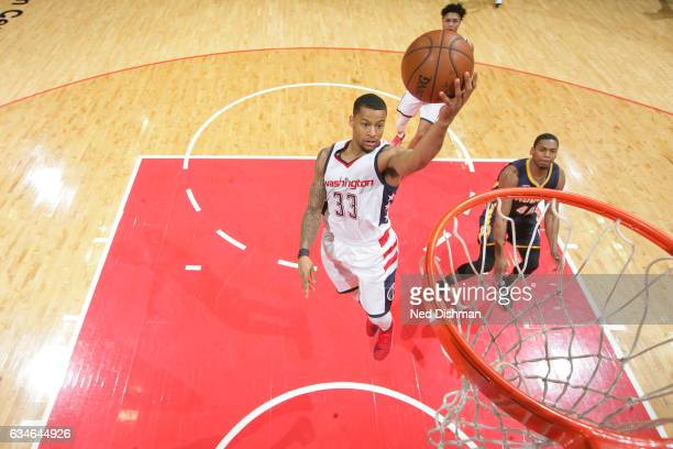 Trey Burke of the Washington Wizards shoots the ball against the Indiana Pacers on February 10 2017 at Verizon Center in Washington DC NOTE TO USER...