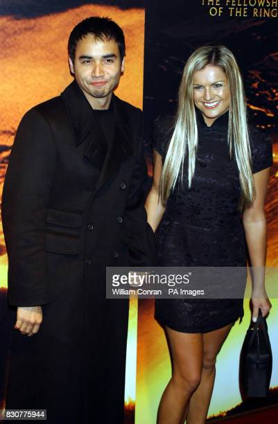 Trey Farley and Katie Hill at the Tobacco Dock in London for the after show party of the world premiere of Lord of the Rings The Fellowship of the...