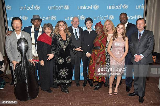 Trey Lee Thomas Gobena Dena Kaye Daniela Mercury Tony Lake Kristian Kristov Angelique Kidjo Menchi Barriocanal Jackie Evancho Don Jazzy and HE...
