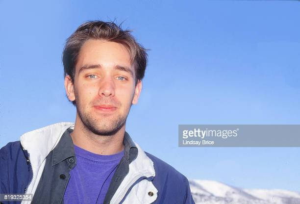 Trey Parker pauses for a portrait at the Sundance Film Festival in January 1994 in Park City Utah