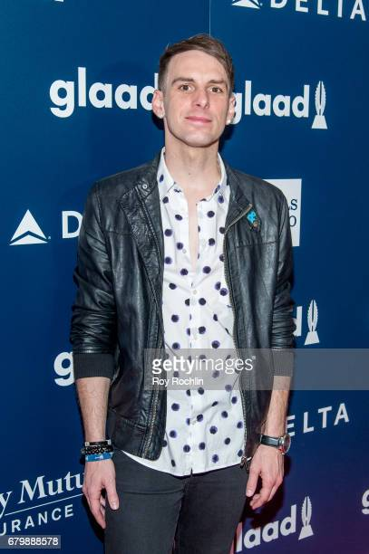 Trey Pearson attends the 28th Annual GLAAD Awards at New York Hilton Midtown on May 6 2017 in New York City