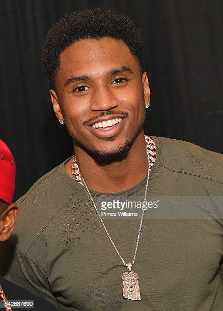 Trey Songz attends Birthday Bash ATL The Heavyweights of HIP HOP Live in Concert at Philips Arena on June 18 2016 in Atlanta Georgia