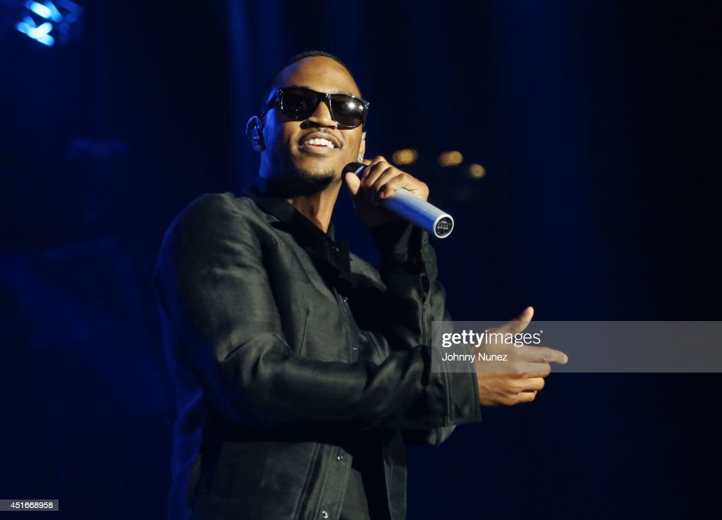 Trey Songz attends the 2014 Essence Music Festival on July 3 2014 in New Orleans Louisiana