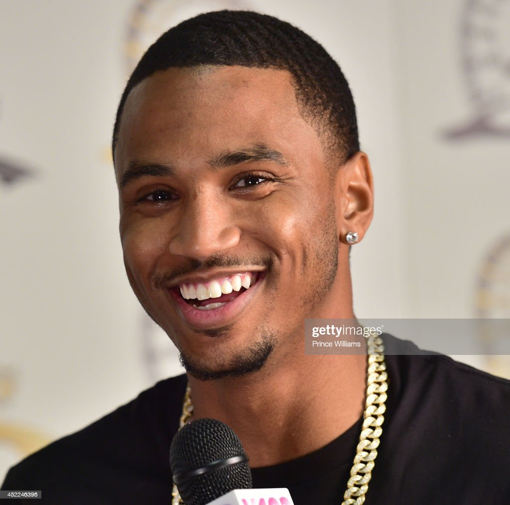 <a gi-track='captionPersonalityLinkClicked' href=/galleries/search?phrase=Trey+Songz&family=editorial&specificpeople=674835 ng-click='$event.stopPropagation()'>Trey Songz</a> attends the 2014 V-103/WAOK Car & Bike Show at Georgia World Congress Center on July 12, 2014 in Atlanta, Georgia.