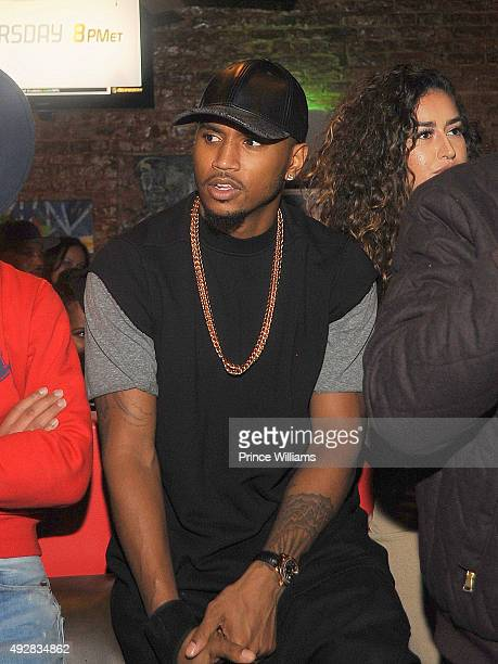 Trey Songz attends the 5th Annual Grand Hustle BET Hip Hop Awards Weekend Block Party at 255 Tapas on October 10 2015 in Atlanta Georgia