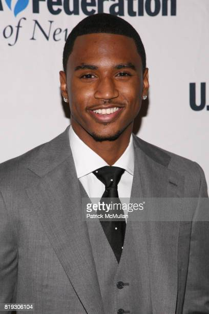 Trey Songz attends UJAFEDERATION OF NEW YORK honors JULIE GREENWALD and CRAIG KALLMAN with The Music Visionary of the Year Award at The Pierre on...