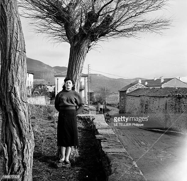 Trial And Acquittal Of Margueritte Marty En France en janvier 1955 Marguerite MARTY une jeune femme de Dorrès petit village des Pyrénées orientales...