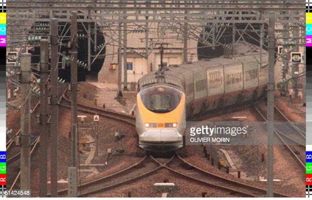 A trial Eurostar train leaves the Channel Tunnel 21 November for the first time since the fire of 18 November The goods train services have restarted...