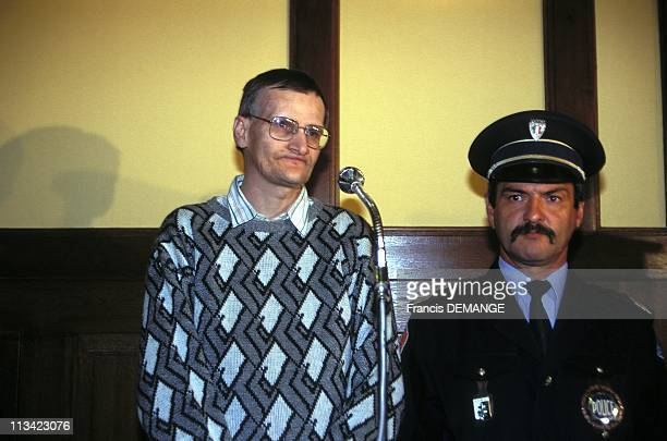 Trial Of Francis Heaulme On September 26th 1995 In Metz