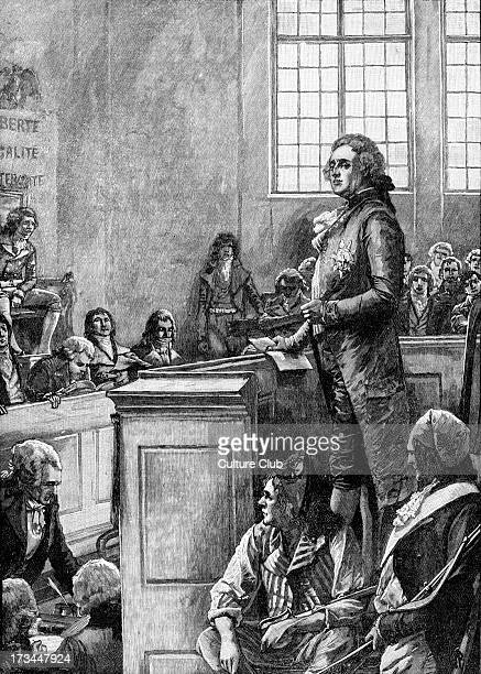 Trial of Louis XVI King of France 1793 Found guilty of conspiracy against the liberty and safety of the State and sentenced to death 23 August 1754 –...