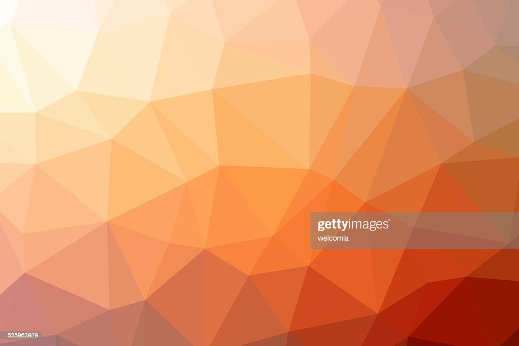 Triangle Low Poly Background : Stock Photo